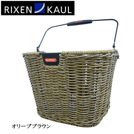 【RIXEN KAUL】(リクセンカウル)KF896 ストラクチャーレトロ(アタッチメント別売)【バスケット】【前カゴ】【自転車 アクセサリー】