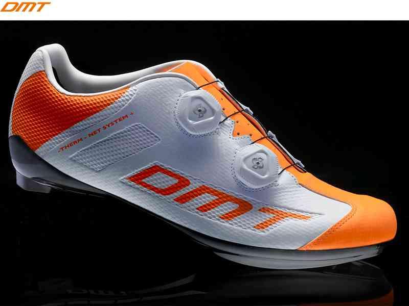【送料無料】【DMT】(ディーエムティー)R1 SUMMER <オレンジフルオ> ロードシューズ【自転車 シューズ】【サイズ交換不可】spdシューズ2006412820012