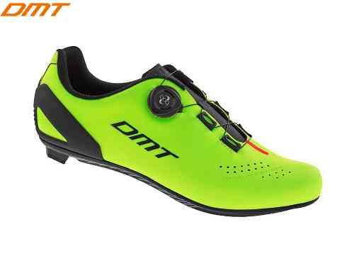 ()【DMT】(ディーエムティー)D5 <イエローフルオ> ロードシューズ(自転車)spdシューズ2006441120015