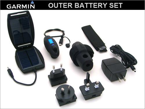 【送料無料】【GARMIN】(ガーミン)アウターバッテリーセット【GPS ハンディナビゲーション サイクルコンピューター】