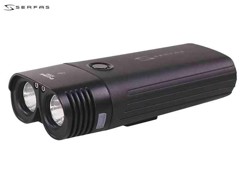 【SERFAS】(サーファス)USL-1200 USB充電式ヘッドライト【自転車 アクセサリー】 2006394490012