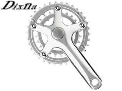 最新作 (送料無料)【DIXNA】(ディズナ)ラ・クランクセット 34/24T(10/11s)BBなし シルバー(自転車)4948107272318, 通販のネオスチール:be9a5c6e --- business.personalco5.dominiotemporario.com