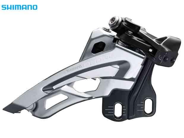 【SHIMANO】(シマノ)DEORE FD-M6000 E-type(BBプレートなし)サイドスイング3x10s【FD】【自転車 パーツ】(IFDM6000E6) 4524667413417
