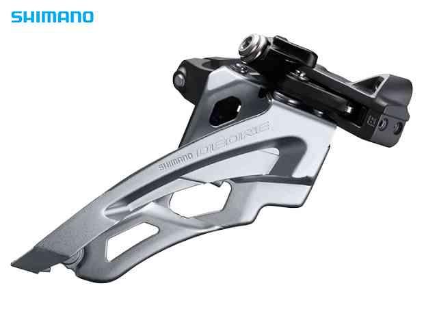 【SHIMANO】(シマノ)DEORE FD-M6000 ミドルポジションバンドタイプφ34.9mm(31.8/28.6mmアダプタ付)サイドスイング3x10s【FD】【自転車 パーツ】(IFDM6000MX6) 4524667392002