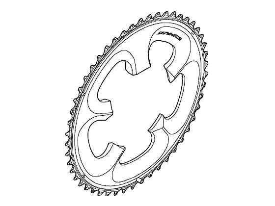 (送料無料)【SHIMANO】(シマノ)DURA-ACE チェーンリング 50T FC-7950用【ギヤ板】(自転車)(Y1KZ98010) FC7950 4524667287902