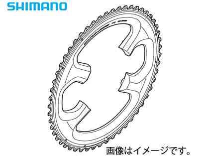 (送料無料)【SHIMANO】(シマノ)DURA-ACE FC-9000 引掛け歯付チェーンリングアウター 50T(50-34T用)(自転車)(Y1N298080) FC9000 4524667945499