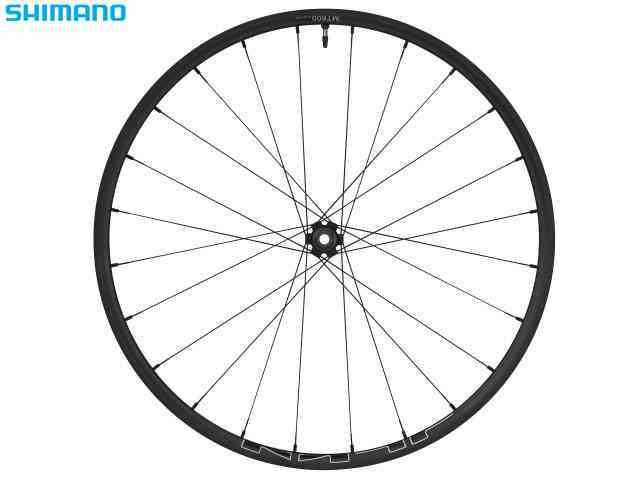 (送料無料)【SHIMANO】(シマノ)WH-MT600-B フロント 15mmEスルー 27.5インチ OLD:110mm【ホイール】(自転車)(EWHMT600LFEBD7B) 4524667866367
