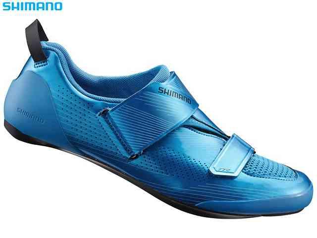 (送料無料)【SHIMANO】(シマノ)TR9(SH-TR901)ブルー トライアスロンシューズ(自転車)spd/SLシューズ