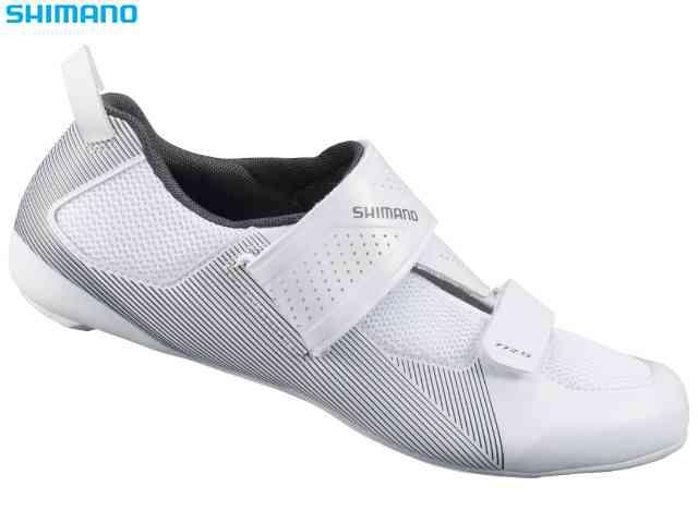 (送料無料)【SHIMANO】(シマノ)TR5(SH-TR501)ホワイト SPD-SL トライアスロンシューズ(自転車)