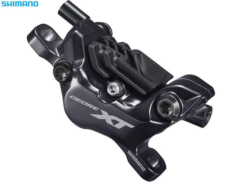 【SHIMANO】(シマノ)XT BR-M8120 DISCキャリパー(N04Cフィン付メタルパッド付)(自転車) 4550170442651 IBRM8120MPMF
