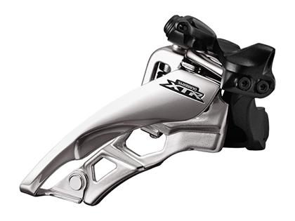 (送料無料)【SHIMANO】(シマノ)XTR FD-M9000 ローポジションバンドタイプφ34.9mm(31.8/28.6mmアダプタ付)サイドスイング 3x11s【FD】(自転車)(IFDM9000LX6) 4524667673354