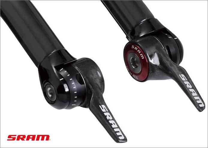 (送料無料)【SRAM】(スラム)1090 R2C TT YAW シフター 2X10S 左右セット/00.7018.023.000(自転車)0710845714078
