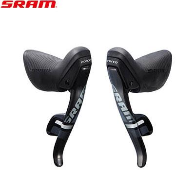 【送料無料】【SRAM】(スラム)FORCE22 ダブルタップコントロールレバー 左右セット(2x11S)【デュアルコントロールレバー】【自転車 パーツ】 FORCE-22