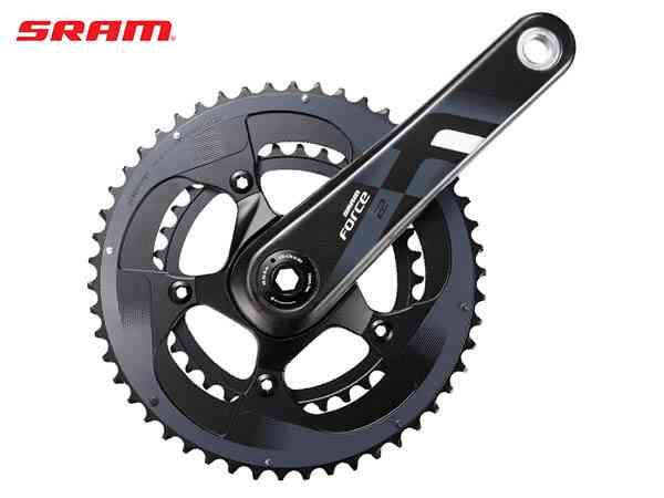 (送料無料)【SRAM】(スラム)FORCE22 クランクセット(2x11S) BB30用【クランクセット】(自転車) FORCE-22