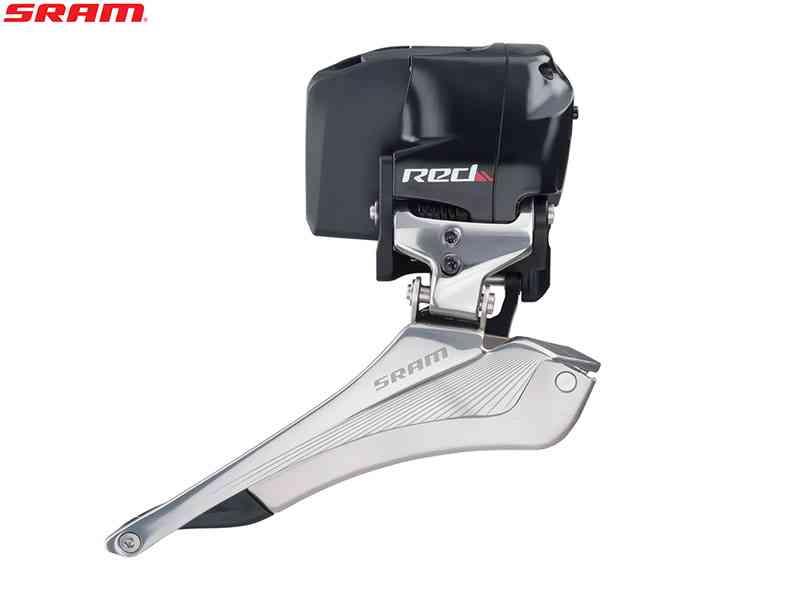 (送料無料)【SRAM】(スラム)RED eTAP フロントディレーラー(2x11S)(自転車)0710845799150