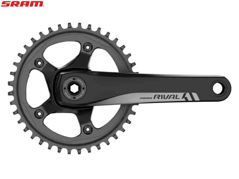 (送料無料)【SRAM】(スラム)RIVAL 1 GXP クランクセット 42T(1x11S)(自転車)0710845770227