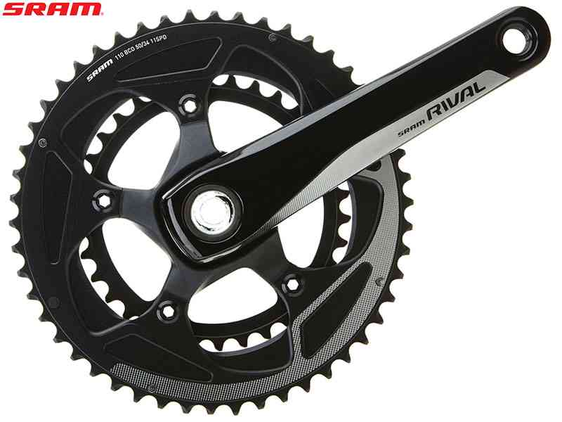 (送料無料)【SRAM】(スラム)RIVAL22 BB30 クランクセット 46/36T(2x11S)(自転車)0710845750281