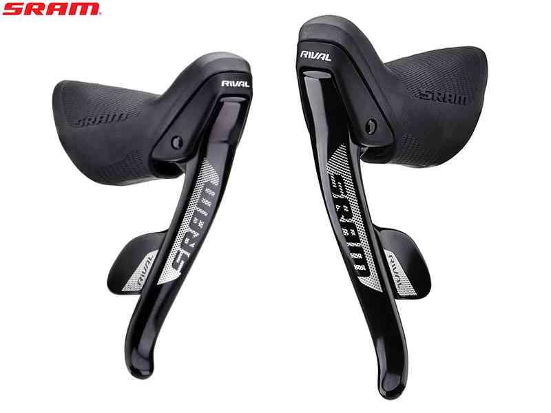 (送料無料)【SRAM】(スラム)RIVAL22 シフトブレーキレバー 左右セット(2x11S)(自転車) 0710845750441