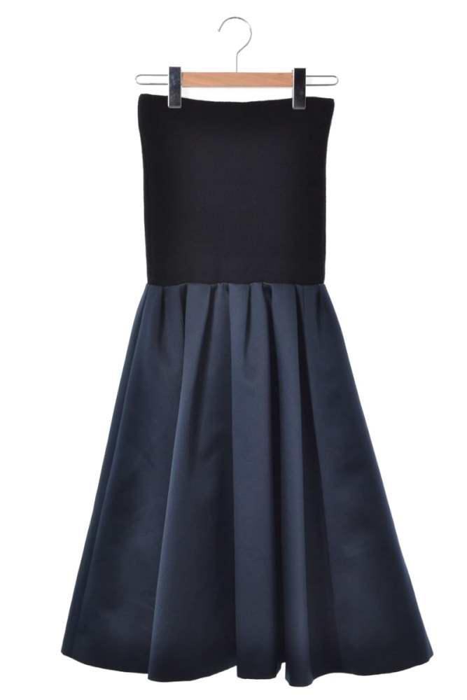レディース マイラン ドレス 美品 MYLAN 中古 F ブラック 当店は最高な サービスを提供します ベア ワンピース オリジナル