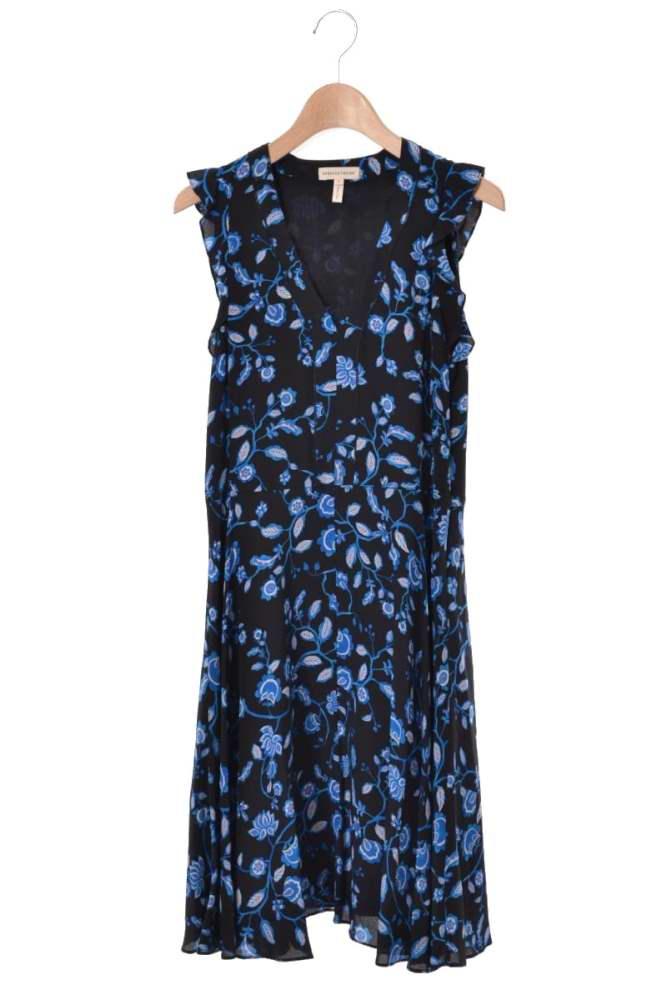 レディース レベッカテイラー ドレス 美品 rebecca taylor Kyoto 未使用 0 シルク ワンピース ブラック 売却 Flora 中古
