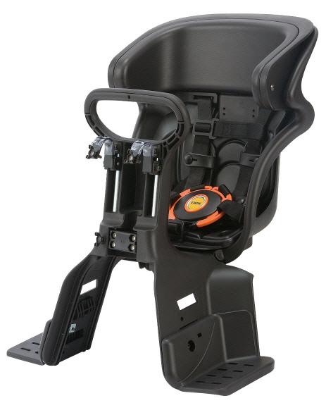最上級の安心をコンフォートフロントベビーシート OGK オージーケー 直送商品 税込 ヘッドレスト付きフロントチャイルドシート FBC-011DX3 ブラック×ブラック 日本製 ブラック×こげ茶 SG基準