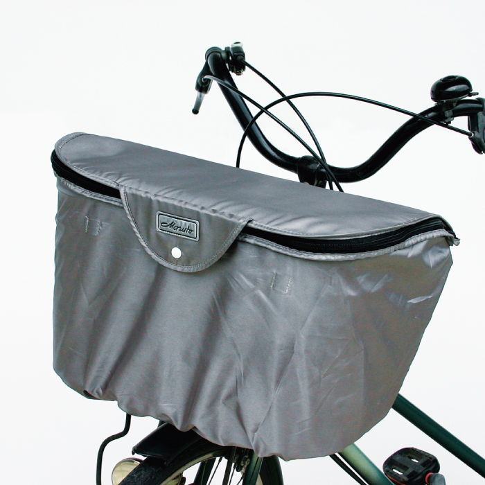 MARUTO スーパーセール期間限定 マルト 前用 2段式バスケットカバー ワイドカゴ用 BC-2000 セール品 大きいサイズ 自転車用