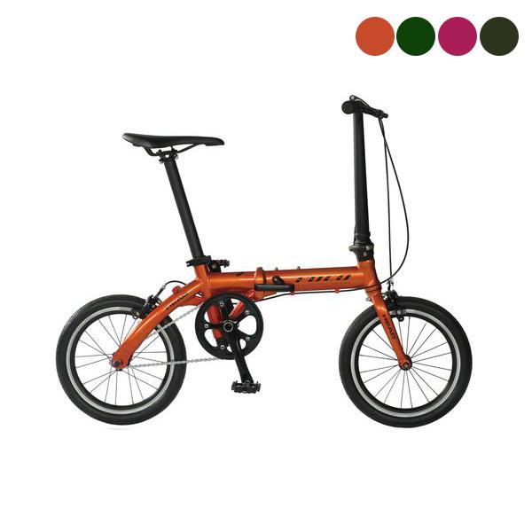 武田産業 FOCCO〔FDR-CC-HE160AL〕折り畳み自転車【在庫限りアウトレット価格】