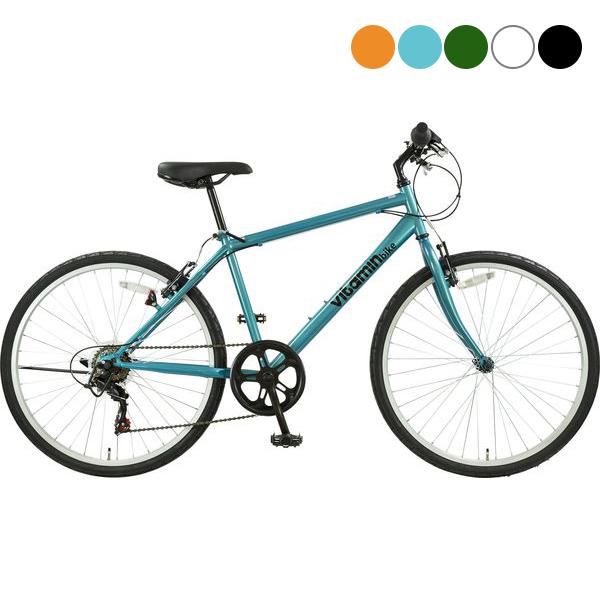 【マラソン期間中エントリーでポイント10倍!】サイクルスポット vitamin bike ATB266〔ST266〕クロスバイク