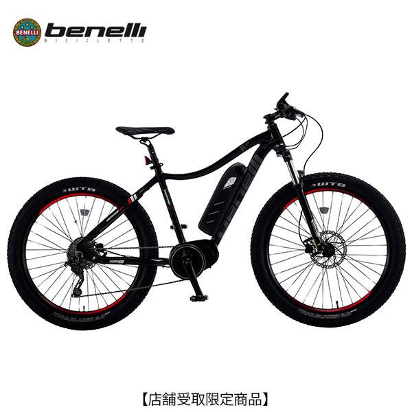 【ヘルメットプレゼント中!】BENELLI ベネリ NERONE 27.5+〔NERONE 27-5-PLUS]電動自転車 マウンテンバイク イーバイク 2018年モデル 【店舗受取限定商品】 E-bike