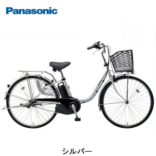【ポイント5倍! 10/13~10/15】パナソニック ビビSX 26インチ 電動自転車〔BE-ELSX63〕【2018年モデル】【WEB限定価格】
