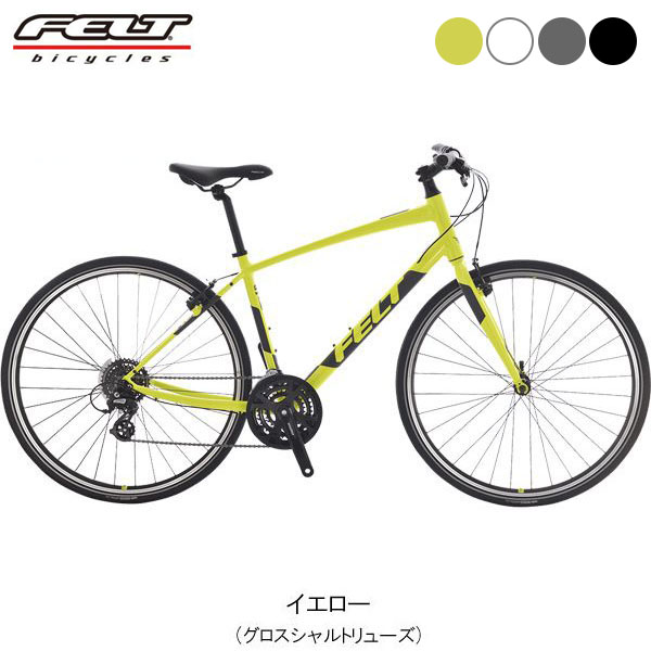 【ポイント10倍! 4/1-4/5】FELT(フェルト) 19 Verza speed 50〔19 Verza speed 50〕クロスバイク