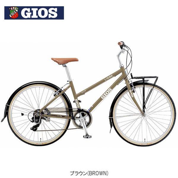 【ポイント10倍! 4/1-4/5】GIOS LIEBE 2019 ジオスリーベ〔19 LIEBE〕クロスバイク