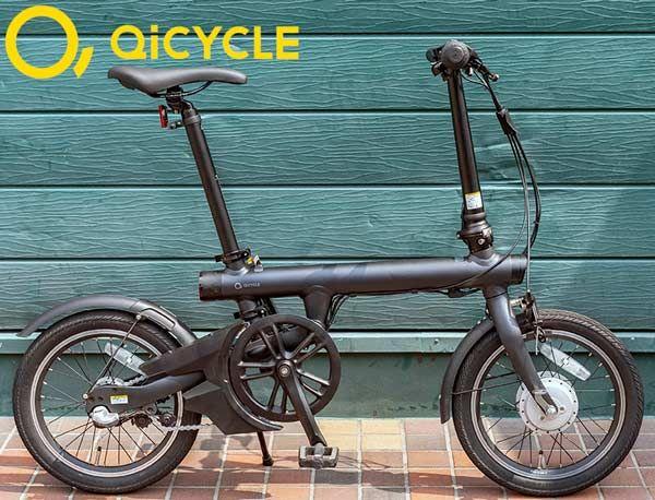 【スーパーセール期間限定価格】QICYCLE EF-1 Pro〔EF-1 Pro〕ミニベロ 電動自転車【店頭受取限定】E-bike イーバイク GSジャパン