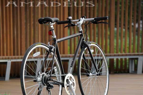 クロスバイク ジェフリーズジャパン アマデウス 700C スチールフレーム〔AMADEUS 700C ST〕アウトレット品