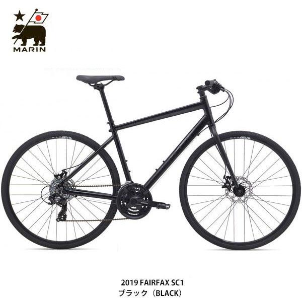 【ポイント10倍! 4/1-4/5】MARIN(マリーン) 19 FAIRFAX SC1〔19 FAIRFAX SC1〕クロスバイク