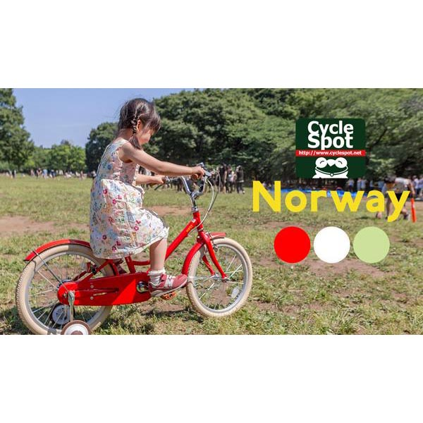 子供自転車 16インチ 〔Norway MOSS〕女の子 男の子 キッズバイク