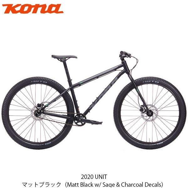 P14倍 8/5 コナ MTB マウンテンバイク スポーツ自転車 2020 UNIT KONA 変速なし