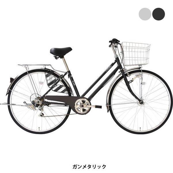 自転車 シティ車 ディスイズ PL276HD サイクルスポットオリジナル 6段変速