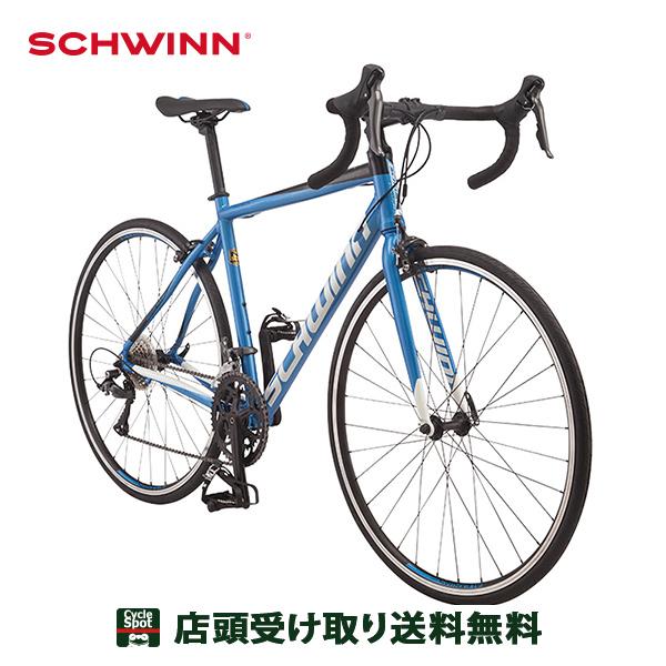 P16倍 6/21 10:00~6/24 23:59 シュウイン クロスバイク スポーツ自転車 2020 ファストバック AL クラリス SCHWINN 16段変速