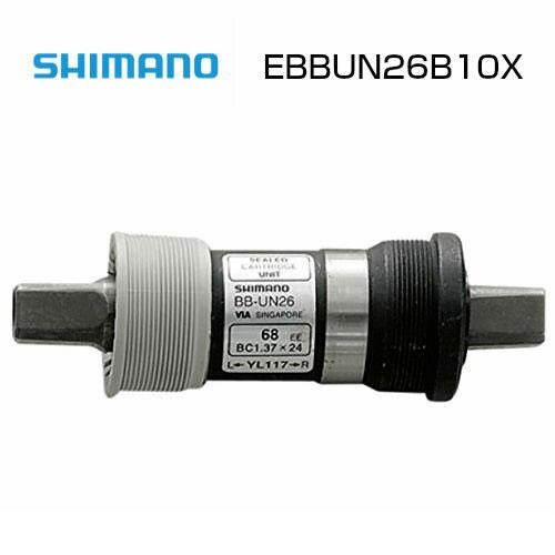 SHIMANO(シマノ) BB-UN26 AXLE:mm110 SHELL:BSA 68mm #EBBUN26B10X 【ボトムブラケット BB 補修品 ロードバイク 自転車】