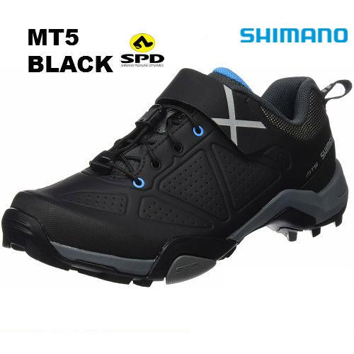 【送料無料】SHIMANO(シマノ) SH-MT500 SPDシューズ ブラック 40/41/42/43/44/45【SPD ビンディングシューズ マウンテンバイク MTB 自転車 トレッキング ツーリング サイクリング】