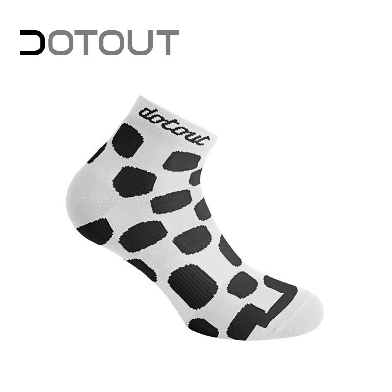 DOTOUT ドットアウト Dots ラッピング無料 豪華な W ソックス S-M ホワイト-ブラック ソック