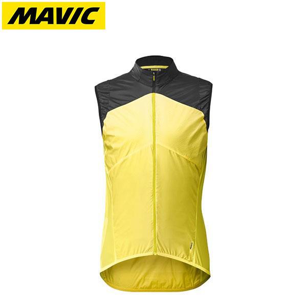 MAVIC マビック サイクルウェア Mavic 送料無料新品 マヴィック コスミック ウインド ベスト ご予約品 2019FWモデル SL イエローマヴィック日本正規品