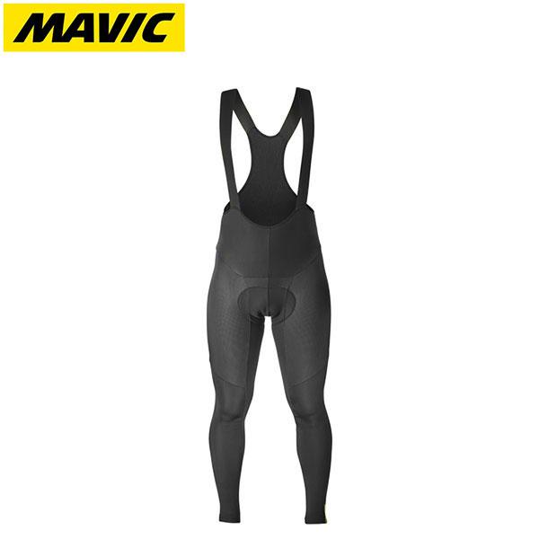 MAVIC マビック サイクルウェア Mavic マヴィック エッセンシャル 高価値 ビブタイツ ブラック日本正規品 2019FWモデル 贈与 サーモ