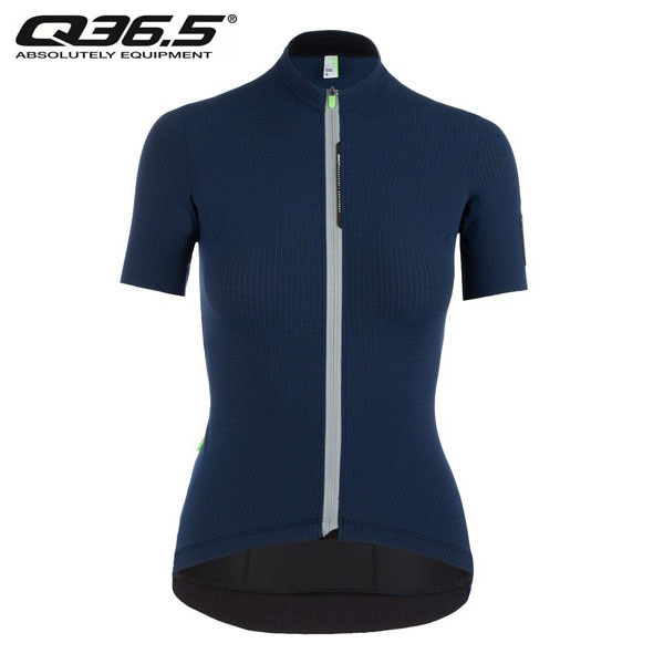 Q36.5 Jersey Short Sleeve L1 Woman Pinstripe  S/S ジャージィ L1 ウーマン ピンストライプ X ネイビー  2020年SSモデル・日本正規品