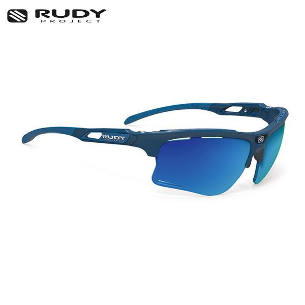 RUDY PROJECT/ルディプロジェクト KEYBLADE キーブレード ブルーネイビーマットフレーム ポラール3FX HDR マルチレーザーブルーレンズ サングラス
