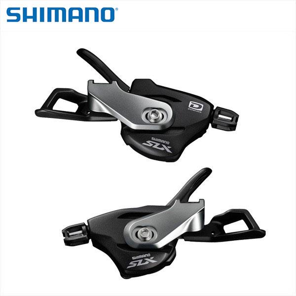 SHIMANO【シマノ】【SLX】SL-M7000 (I-spec B) 左右レバーセット 2/3X10S 付属/ブラックシフトケーブル