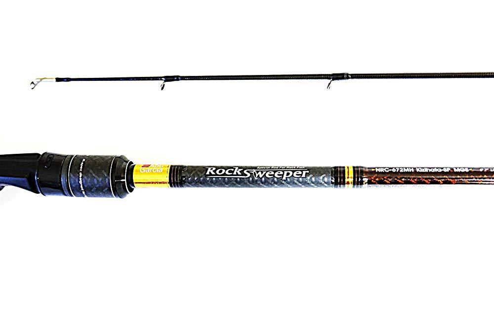 アブガルシア Abu 定価 Garcia ロックフィッシュ ロッド キジハタSP MGS RockSweeper NRC-672MH ベイト 新品未使用正規品