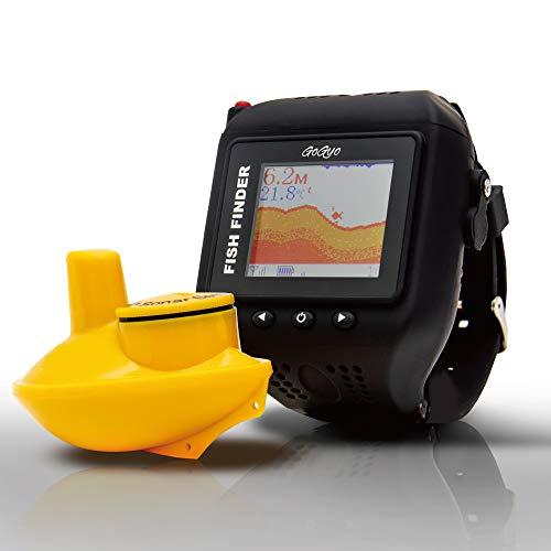 【MagCruise 1年保証】 ぎょぎょウォッチ ウェアラブルスマート 魚群探知機 時計型 ワイヤレス 魚探 LUCKY (コンプリートセット)