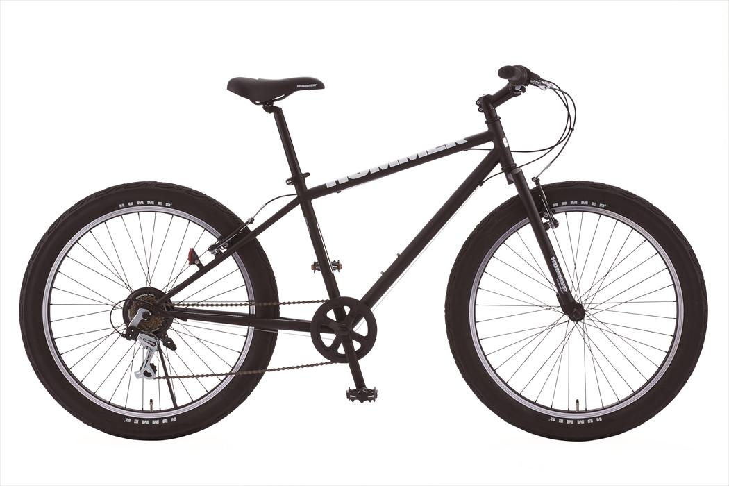 送料無料 マウンテンバイク ハマー HUMMER 自転車 ブラック 黒色 26インチ マウンテンバイク 外装6段変速ギア MTB 自転車 ハマー マウンテンバイク TANK3.0 激安 安い おしゃれ